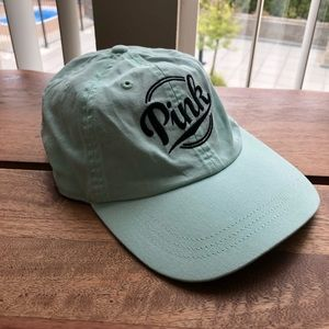 VS PINK Mint Baseball Cap Hat